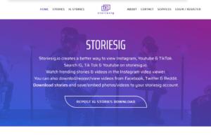 Stories Ig