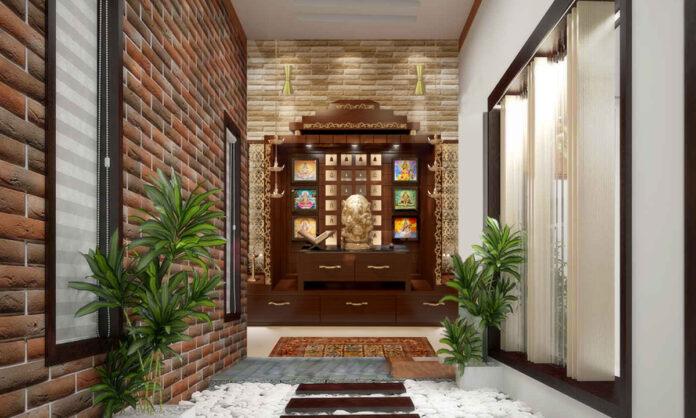 best pooja room interior design companies in Noida