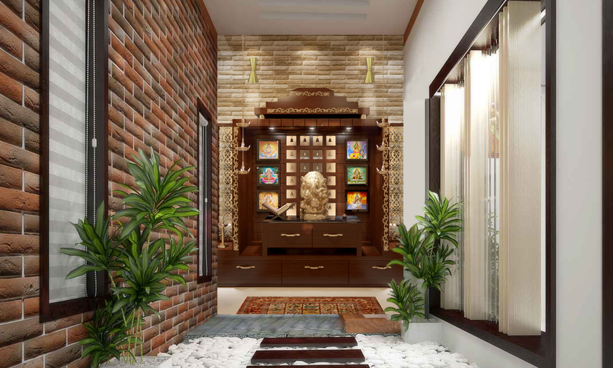best pooja room interior design companies in Noida