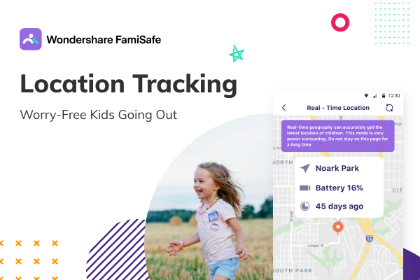 parenting game with this location tracker